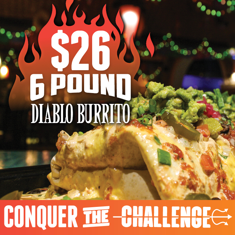 Restaurant Special - Loco Burrito - Oct 2020 - Cypress Bayou Casino and Hotel