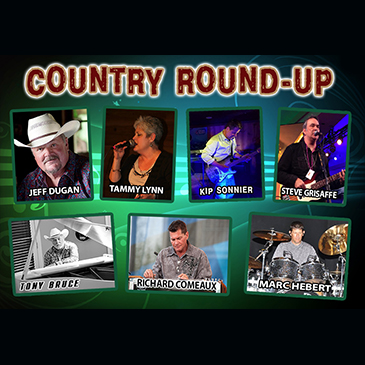 Entertainment - Rox - Country Roundup July 2018 - Cypress Bayou Casino and Hotel